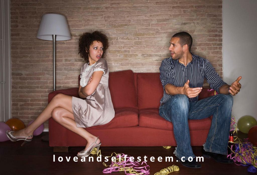 self esteem in relationships